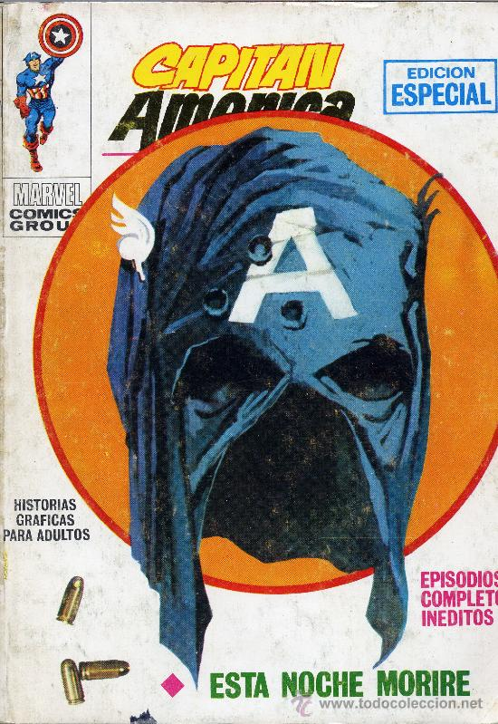 CAPITAN AMERICA Nº4. VERTICE, 1969. PORTADA: ENRICH (Tebeos y Comics - Vértice - Capitán América)