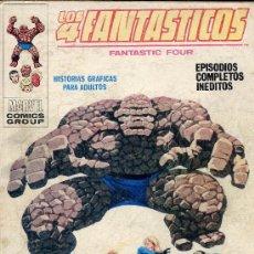 Cómics: LOS 4 FANTASTICOS Nº34. EDITORIAL VERTICE, 1968. PORTADA : LOPEZ ESPI. Lote 23461396