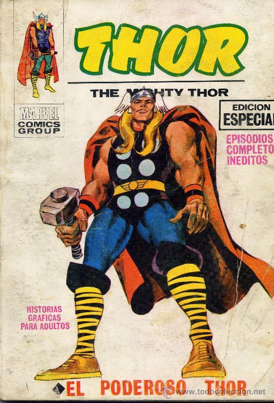 THOR Nº1 (EDITORIAL VÉRTICE, 1969) PORTADA DE LÓPEZ ESPI (Tebeos y Comics - Vértice - Thor)