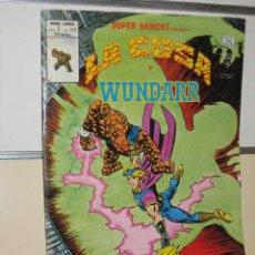 Cómics: SUPER HEROES LA COSA Y WUNDARR VOL. 2 Nº 122. Lote 23697354
