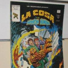Cómics: LOS INSUPERABLES LA COSA Y LA ANTORCHA HUMANA VOL. 1 Nº 31. Lote 23697487