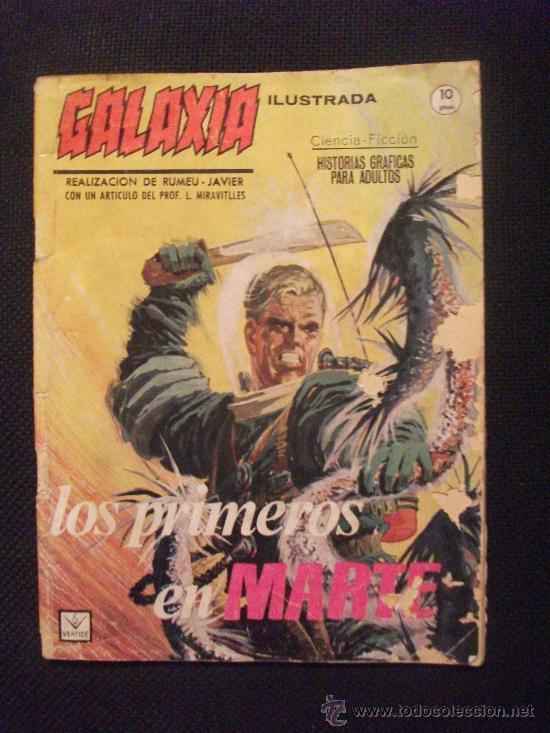 GALAXIA EDICIONES VERTICE GRAPA (Tebeos y Comics - Vértice - Grapa)