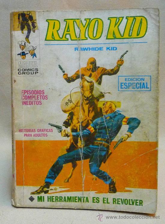 COMIC, 2 PISTOLAS KID, MI HERRAMIENTA ES EL REVOLVER, Nº 11, MARVEL COMICS GROUP, VERTICE (Tebeos y Comics - Vértice - Otros)