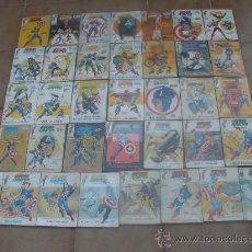Cómics: CAPITAN AMERICA VOLUMEN 1 36 NUMEROS COMPLETA. Lote 25983781