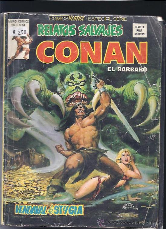 CONAN RELATOS SALVAJES 84 (Tebeos y Comics - Vértice - Relatos Salvajes)