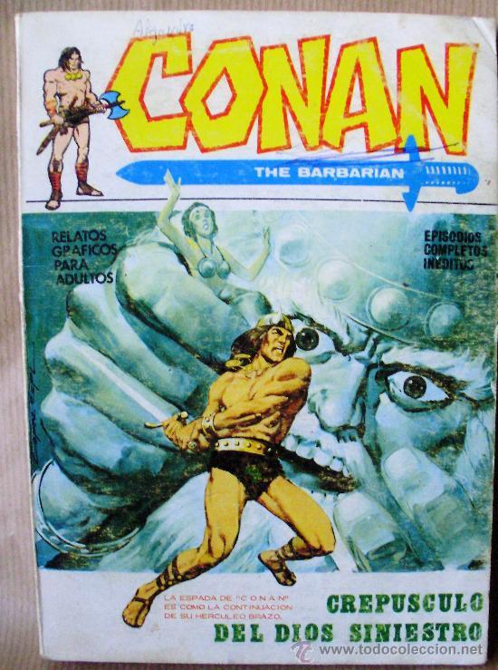 VERTICE VOL 1 – CONAN Nº 2 – AÑO 1972 (Tebeos y Comics - Vértice - Conan)