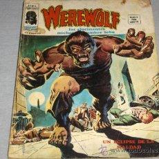 Cómics: VÉRTICE VOL. 2 WEREWOLF Nº 5 HOMBRE LOBO. 1975. 35 PTS.. Lote 24501818