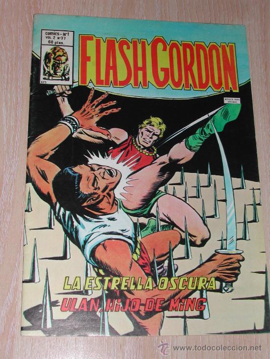 VERTICE - FLASH GORDON - COMICS - ART - VOL. 2 - Nº. 37 (Tebeos y Comics - Vértice - Flash Gordon)