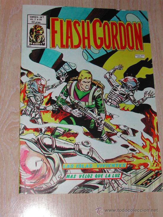 VERTICE - FLASH GORDON - COMICS - ART - VOL. 2 - Nº. 39 (Tebeos y Comics - Vértice - Flash Gordon)