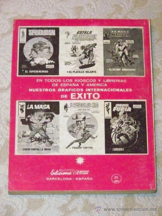 Cómics: VERTICE EL JINETE FANTASMA COMPLETA 4 Nº - Foto 3 - 26720127
