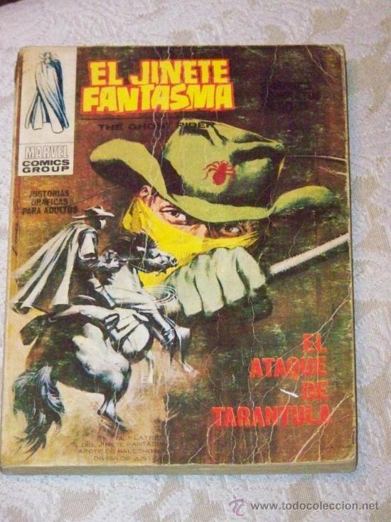 Cómics: VERTICE EL JINETE FANTASMA COMPLETA 4 Nº - Foto 4 - 26720127