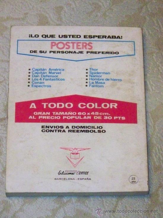Cómics: VERTICE EL JINETE FANTASMA COMPLETA 4 Nº - Foto 9 - 26720127