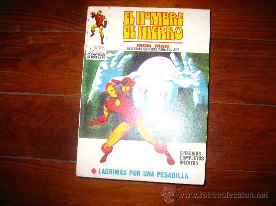 EL HOMBRE DE HIERRO Nº 22 VERTICE VOL 1 VOL I (Tebeos y Comics - Vértice - Hombre de Hierro)