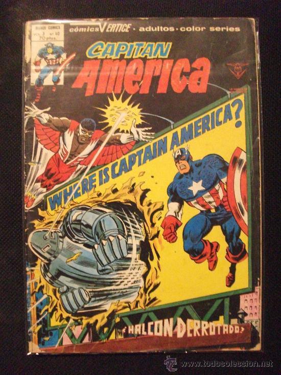 CAPITAN AMERICA VOL3 Nº 40 EDICIONES VERTICE (Tebeos y Comics - Vértice - Capitán América)