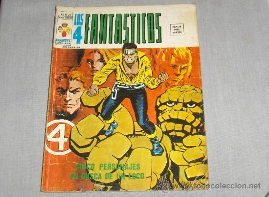 VÉRTICE VOL. 2 LOS 4 FANTÁSTICOS Nº 24. 35 PTS. 1976. (Tebeos y Comics - Vértice - 4 Fantásticos)