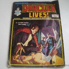 Cómics: ESCALOFRIO - DRACULA LIVES! - Nº 32 - EDICIONES VERTICE - AÑO 1.975. Lote 25529591