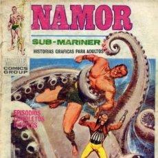 Cómics: NAMOR Nº12 (EDITORIAL VÉRTICE, 1971) PORTADA LÓPEZ ESPI. Lote 26200846