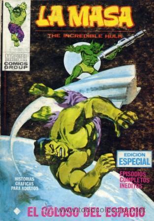 LA MASA Nº17 (EDITORIAL VÉRTICE, 1972) PORTADA LÓPEZ ESPI (Tebeos y Comics - Vértice - La Masa)