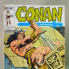 Cómics: TEBEO, COMIC, CONAN, EL BARBARO,Nº16, MARVEL, LA SOMBRA EN LA TUMBA, EDICIONES VERTICE, 1973. Lote 27052863