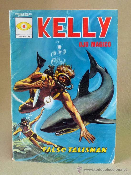 COMIC, KELLY, OJO MAGICO, FALSO TALISMAN, Nº 2, VERTICE, (Tebeos y Comics - Vértice - Otros)