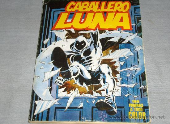 VÉRTICE SURCO RETAPADO CABALLERO LUNA Nº 1. 350 PTS. 1981. (Tebeos y Comics - Vértice - Surco / Mundi-Comic)