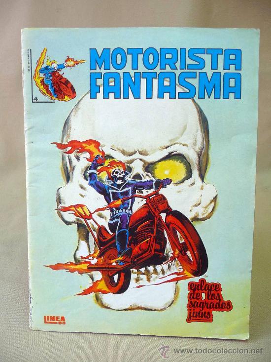 COMIC, EL MOTORISTA FANTASMA, ENLACE DE LOS SAGRADOS JINNS, Nº 4, MUNDI COMICS (Tebeos y Comics - Vértice - Surco / Mundi-Comic)