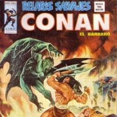 Cómics: CONAN - RELATOS SALVAJES - VERTICE - VOL 1 Nº 25 - LA REDOMA SIN FIN. Lote 28953855