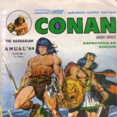 Cómics: CONAN - ESPECTACULAR EDICION - VERTICE - ANUAL 80 - Nº 1. Lote 27605965