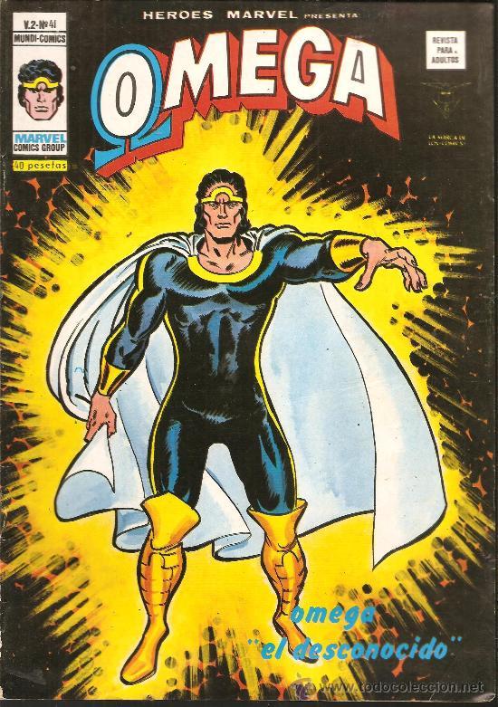 HEROES MARVEL V.2 Nº 41 OMEGA (Tebeos y Comics - Vértice - Otros)