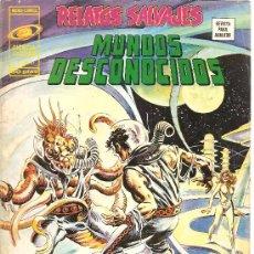 Cómics: RELATOS SALVAJES V.1 Nº 21 MUNDOS DESCONOCIDOS. Lote 28360603