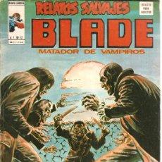 Cómics: RELATOS SALVAJES V.1 Nº 32 BLADE EL MATADOR DE VAMPIROS. Lote 27721448