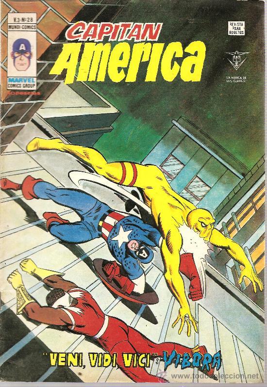 CAPITAN AMERICA V.3 Nº 28 (Tebeos y Comics - Vértice - Capitán América)