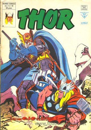THOR V.2 48 VERTICE (Tebeos y Comics - Vértice - Thor)