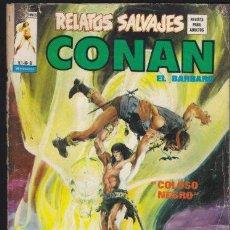 Cómics: RELATOS SALVAJES 8 - CONAN EL BARBARO - VERTICE. Lote 27803469