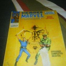 Cómics: M69 HEROES MARVEL CON EL CAPITAN SAVAGE NUMERO 4 ED. VERTICE. Lote 27833373