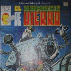 Cómics: EL HOMBRE DE HIERRO HEROES MARVEL V.2 Nº 66 VOL 2 ( ORIGINAL ED MARVEL 50 PTAS) (S3). Lote 27847049