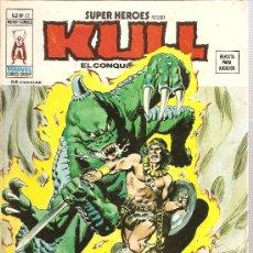 Cómics: SUPER HEROES V.2 Nº 22 KULL EL CONQUISTADOR. Lote 27896464