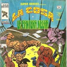 Cómics: SUPER HEROES V.2 Nº 102 LA COSA Y LA PANTERA NEGRA. Lote 27896553