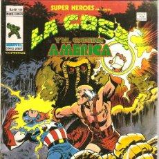 Cómics: SUPER HEROES V.2 Nº 104 LA COSA Y EL CAPITAN AMERICA. Lote 27896696