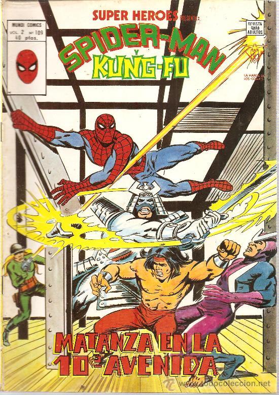 SUPER HEROES V.2 Nº 109 SPIDER-MAN Y KUNG-FU (Tebeos y Comics - Vértice - Super Héroes)