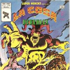 Cómics: SUPER HEROES V.2 Nº 114 LA COSA Y HERCULES. Lote 27896773
