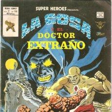 Cómics: SUPER HEROES V.2 Nº 116 LA COSA Y EL DOCTOR EXTRAÑO. Lote 27896786