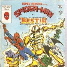 Cómics: SUPER HEROES V.2 Nº 126 SPIDER-MAN Y LA BESTIA. Lote 27897079