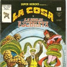 Cómics: SUPER HEROES V.2 Nº 131 LA COSA Y LA BRUJA ESCARLATA. Lote 27897096