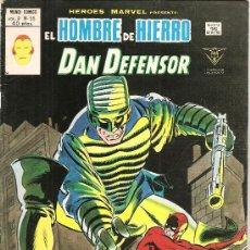 Cómics: HEROES MARVEL V.2 Nº 55 EL HOMBRE DE HIERRO Y DAN DEFENSOR. Lote 27936585