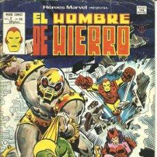 Cómics: HEROES MARVEL VOL. 2 EL HOMBRE DE HIERRO Nº 65. Lote 27955075