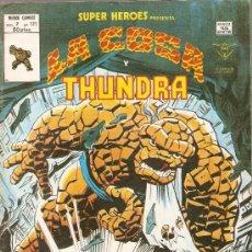 Cómics: SUPER HEROES V.2 Nº 121 LA COSA Y THUNDRA. Lote 27965787