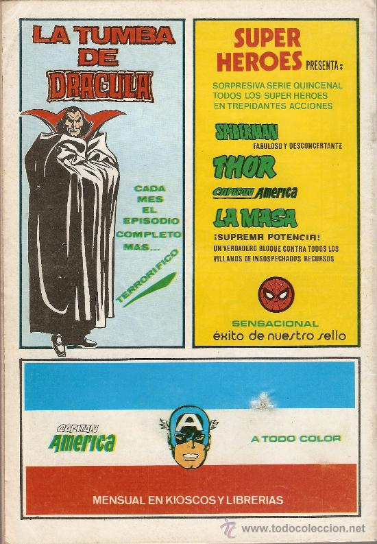 Cómics: SUPER HEROES V.2 Nº 122 LA COSA Y WUNDARR - Foto 2 - 27966011