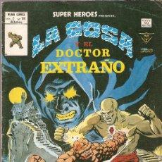Cómics: SUPER HEROES V.2 Nº 116 LA COSA Y EL DOCTOR EXTRAÑO. Lote 27966202