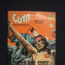 Cómics: CUTO - ENTRE LOS SIOUX - Nº 2 - VERTICE -. Lote 28092121